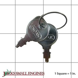 4834001S Key - Set of 2