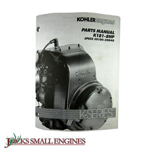 K181 Parts Manual TP2045B