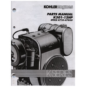 TP2097 K301 Parts Manual