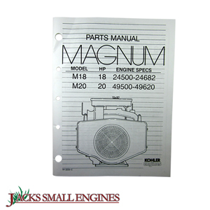 TP2233C M18/M20 Parts Manual