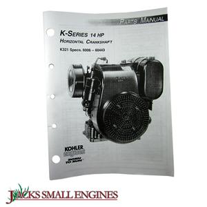TP691B K321 Parts Manual