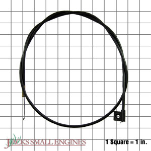 612588 Throttle Cable