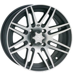 "SR433 12"" Wheel Rim - SS316 Black w/ Machined"