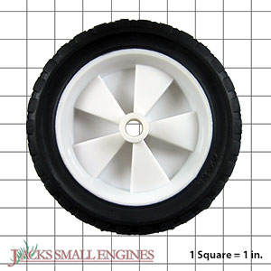 715P916OF Light Duty Plastic Wheel