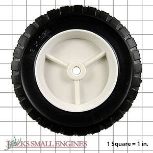 875POF Light Duty Plastic Wheel