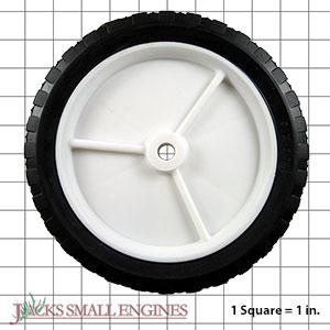 975P916OF Light Duty Plastic Wheel