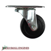Hard Rubber Swivel Caster Wheel S25HR