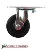 Soft Rubber Swivel Caster Wheel S25SR