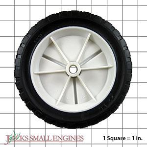 715POF Light Duty Plastic Wheel
