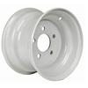 "10"" Wheel Rim - White Standard 5 Hole R105"