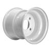"8"" Wheel Rim - White Standard 4 Hole R8584"