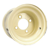 "8"" Wheel Rim - Gold Cart R9584BLSB"