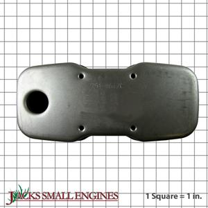7510617C Muffler Single Inlet