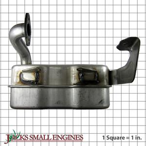 75110529A Muffler Single Inlet