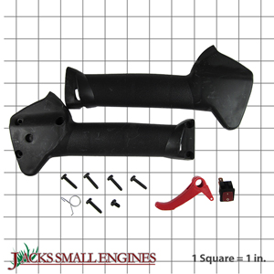 75304234 Throttle Housing & Trigger Assembly