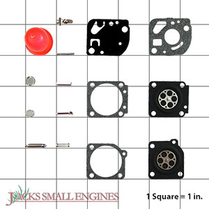 530069969 Carburetor Repair Kit