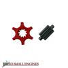 Bar Adjustment Wheel Assembly