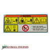 Warning Label 0732005181