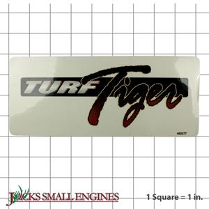 482577 Turf Tiger Decal