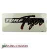 Turf Tiger Decal