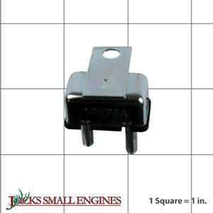1665238SM Circuit Breaker, 12Volt, 20 Amps W/Tab