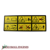Safety Instructions Decal 1723175SM