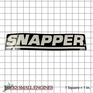 7019295YP Snapper Decal