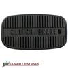Left Hand Clutch/Brake Pedal Pad     7011815YP