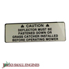 Deflector Caution Decal 7014416YP