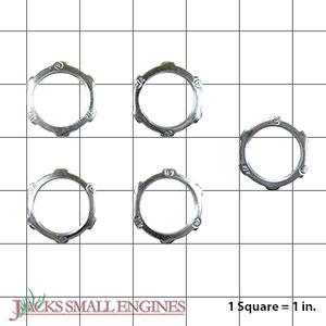 110016 Muffler Lock Nut