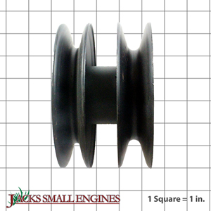 275040 DOUBLE SPINDLE PULLEY