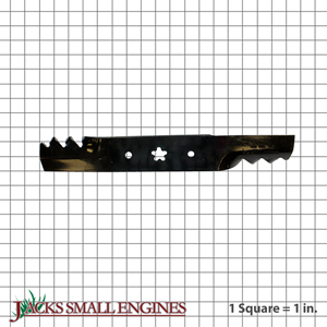 302408 Silver Streaked Tooth Blade