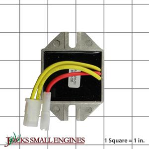 stens 435195 voltage regulator replaces briggs and. Black Bedroom Furniture Sets. Home Design Ideas