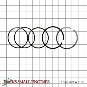 500728 Chrome Piston Rings