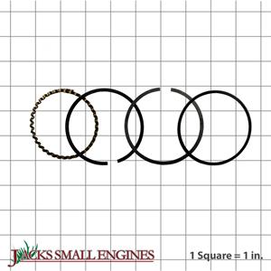 500827 Chrome Piston Rings
