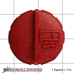37845 Red Gas Cap