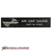 Air Gap Gauge 670297