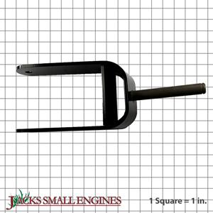 110658103 Caster Fork Assembly