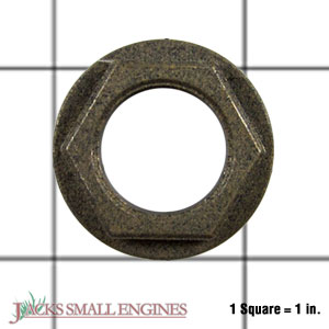 1120930 Flanged Hex Bearing