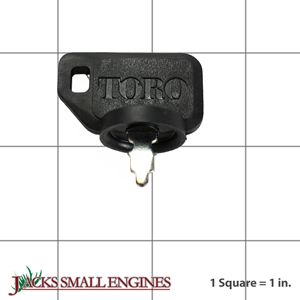638360 Ignition Key w/ Shield