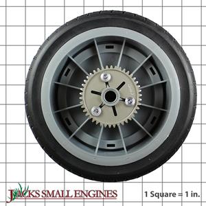 987135 Wheel Assembly w/ Gear
