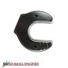 Black V Muffler Cover 61467403