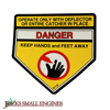 Danger Decal
