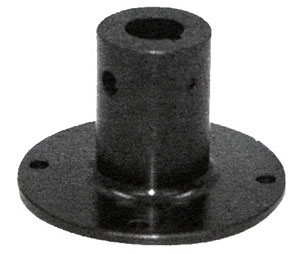 "924F0017T 3"" Universal Keyed and Cross Drilled Hub Spinner"