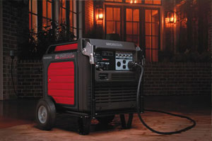 Portable generators for home backup power, jobsite applications, and recreational activities.