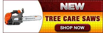 New Tree Care Saws