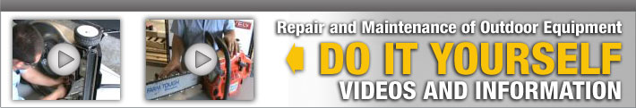 DIY - Do It Yourself Videos and Information on Repair and Maintenance of Outdoor Equipment