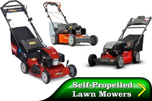 See Our Self-Propelled Lawn Mowers by clicking here