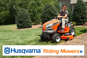 See Husqvarna Riding Mowers by clicking here