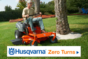 See Husqvarna Zero Turn Mowers by clicking here